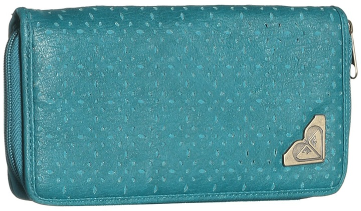 Roxy Harbor Wallet (Shaded Spruce) - Bags and Luggage