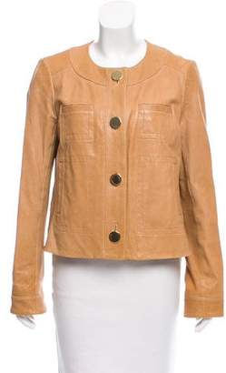 Tory Burch Tailored Leather Jacket