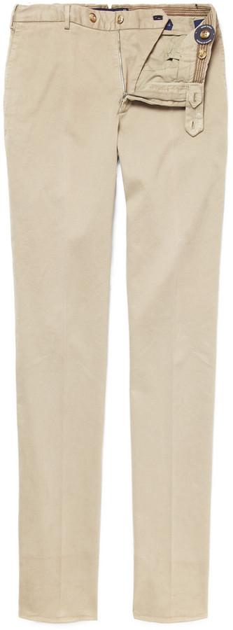Incotex Slowear Straight-Leg Cotton-Blend Chinos