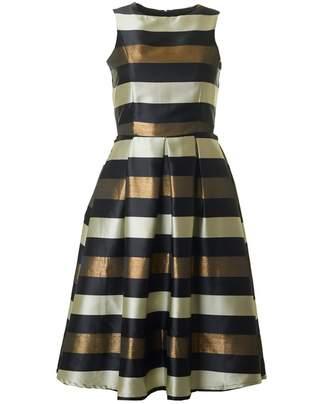 Bourne Una Striped Full Skirt Dress
