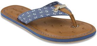 Gulf Breeze Plaque Thong Sandal $40 thestylecure.com