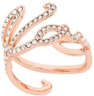 Karl Lagerfeld signature ring
