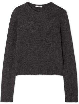The Row Droi Cashmere-blend Sweater - Charcoal