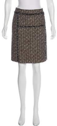 Tory Burch Knee-Length Tweed Skirt