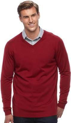 Apt. 9 Big & Tall Regular-Fit Wool-Blend Merino Sweater