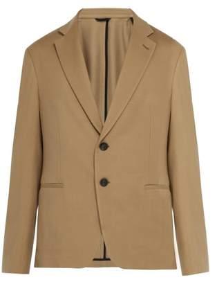 Giorgio Armani Slim Fit Wool Blend Blazer - Mens - Beige