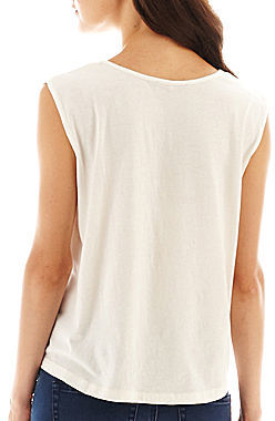 MNG by Mango Embroidered Tank Top