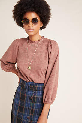 Current Air Jasia Balloon-Sleeved Pullover