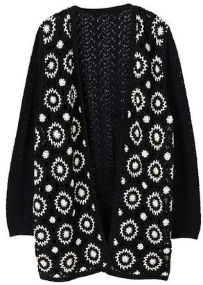 MANGO Crochet cardigan