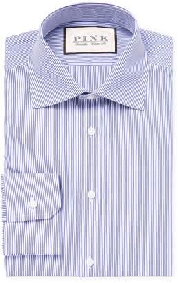 Thomas Pink Men's Classic Fit Ferguson Striped Dress Shirt