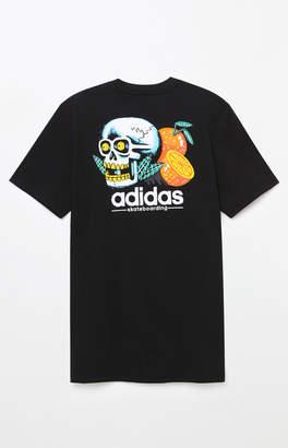 adidas Skateboarding Tropical Skull T-Shirt