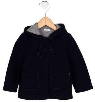 Il Gufo Giaccone Wool Hooded Jacket