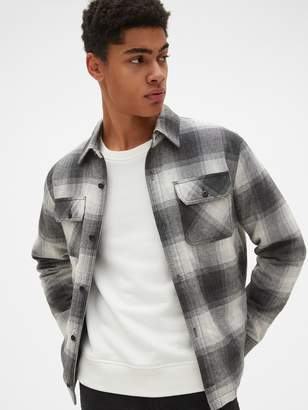 Gap Flannel Shirt Jacket