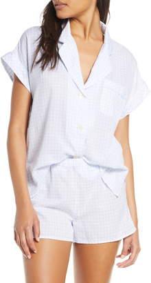 Madewell Gingham Bedtime Pajama Top