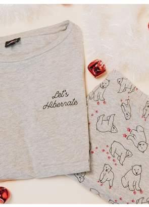 67aeca8a at Orchard Mile · Cosabella Holiday Tees Bear Pj Set