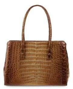 Nancy Gonzalez Classic Crocodile Tote