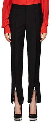 Givenchy Women's Mohair-Wool Gabardine Wide-Leg Trousers