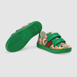 Gucci Children's Ace GG baboon sneaker
