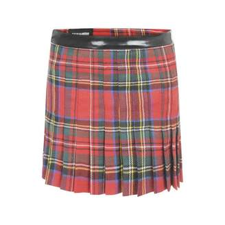 DSQUARED2 Dsquared2Girls Red Tartan Wool Skirt