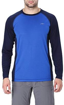 Co Trailside Supply Men's Quick-dry Active Sport Long Sleeve Compression Baselayer
