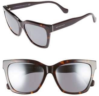 Balenciaga 55mm Sunglasses