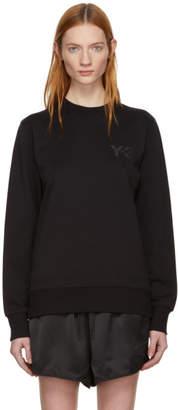 Y-3 Black Classic Logo Sweatshirt