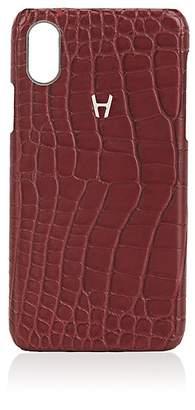 Hadoro Alligator iPhone® X Hard Case - Dark Red