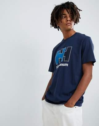 Helly Hansen Logo T-Shirt in Blue