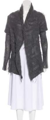 Peachoo+Krejberg Long Sleeve Wool Cardigan