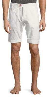 Psycho Bunny Textured Cotton Shorts