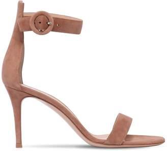 Gianvito Rossi 85mm Portofino Suede Sandals