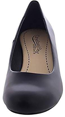 City Classified Comfort Shoes Women's Round Toe Low Heel Wedges MVE Shoes, mve Shoes Corey Size 8
