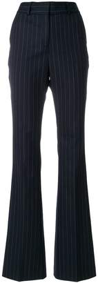 Filles a papa pinstriped wide-leg trousers
