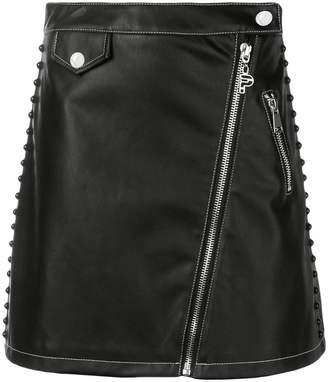 Pinko zipped A-line skirt