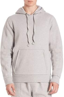 Les Benjamins Men's Solid Hoodie with Kangaroo Pockets