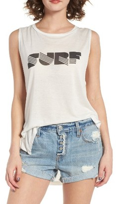 Women's Billabong Surf Graphic Muscle Tee $29.95 thestylecure.com