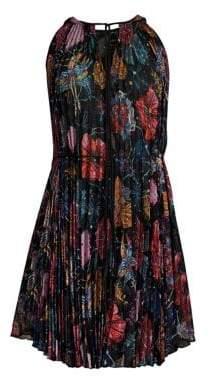 Romance Was Born Wildflower Cape Dress