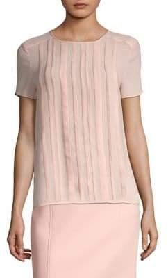 BOSS Irisana Short-Sleeve Blouse