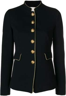 Pinko piped military style blazer