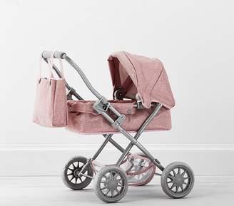Pottery Barn Kids Pink Glitter Mini Doll Pram