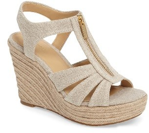 Women's Michael Michael Kors Berkley Platform Wedge $98.95 thestylecure.com