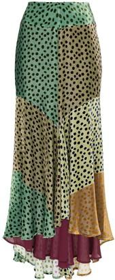 Silvia Tcherassi Delilah Sky asymmetric skirt