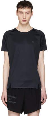 Isaora Navy Quick Dry Welded Raglan T-Shirt