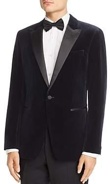 Chambers Velvet Slim Fit Tuxedo Jacket
