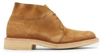 Tricker's Monty Suede Desert Boots - Mens - Tan