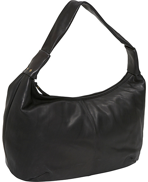 Derek Alexander Large top zip hobo