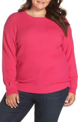 Glamorous Pleat Sleeve Sweater