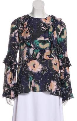 See by Chloe Ruffled Long Sleeve Top