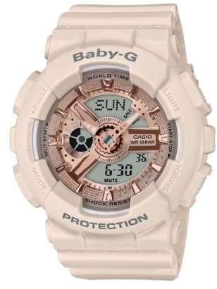 G-Shock BABY-G Ani-Digi Resin Strap Watch, 43mm