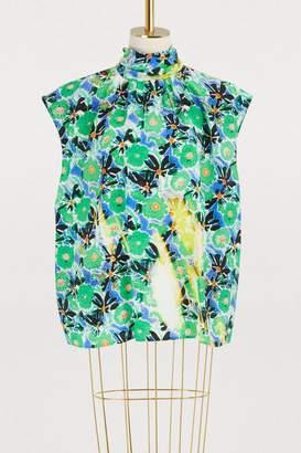 Prada Printed blouse